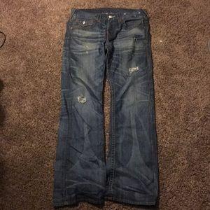 True religion jeans sz 32